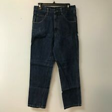 Oil & Gas Safety Supply Mens 30x32 Fr Blue Jeans