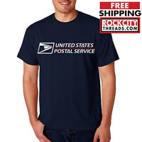 USPS POSTAL T-SHIRT Shirt with Logo on Chest United States Service Eagle Tshirt