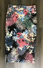 Miss Selfridge Ladies Casual Polyester Floral Skirt Multicoloured Size 8