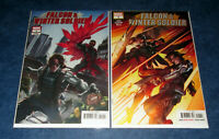 FALCON & WINTER SOLDIER 1 A & LIU variant 1st print MARVEL 2020 1st app Natural