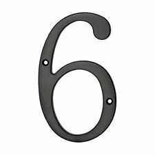 """Gatehouse 5"""" House Numbers 6, 7, 8 or 9 in Black"""