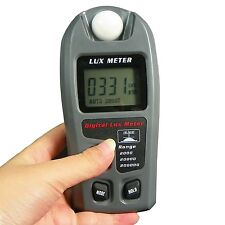 Leaton Digital Luxmeter / Digital Illuminance Light Meter lux meter with LCD ...