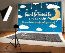 Twinkle Little Star Photo Background 7x5ft Baby Studio Photography Backdrops