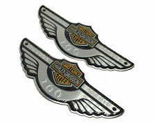 Harley 2003 100th Anniversary Gas Fuel Tank Emblems Badges emblems Monogram new