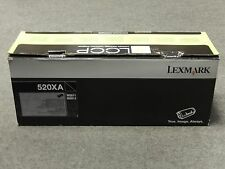 Lexmark 52D0XA0 Black 520XA Toner Cartridge MS811 MS812 Genuine New Open Box