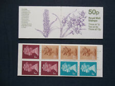 Fb30 Orchids Cymbidium 50P Machin Stamp Booklet Umfb34