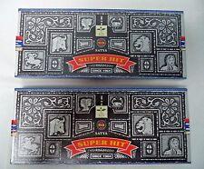 Satya Nag Champa Super Hit Incense Sticks 2 x 100 gram = 200 gm (Superhit)