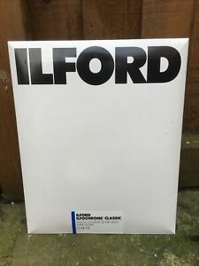 Expired/unopened (APR 2005) ILFORD ILFOCHROME CLASSIC CLM.1K Paper - 25 Sheets