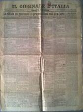IL GIORNALE D'ITALIA  - 1908 - LA SFILATA DEI TESTIMONI AL PROCESSO NASI - 553