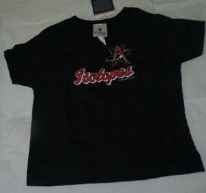 NEW MILB  Albuquerque Isotopes Baseball T Shirt Kids 4 Black NEW NWT