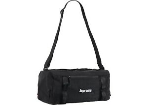 Supreme Mini Duffle Bag - Black