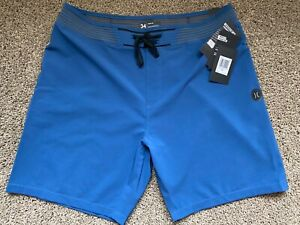 $100 BRAND NEW HURLEY PHANTOM HYPERWEAVE SOLID MENS BOARD SHORTS 32 33 34 36 18