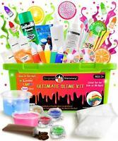 Slime Kit Ultimate Supplies Fun Stuff For Girls Boys Kids Slime Making DIY Color