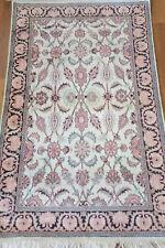 tapis soie / silk rug carpet Kashmir, 150 X 93 cm