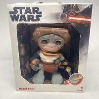 """Target Exclusive Star Wars Talking Babu Frik 9"""" Plush"""