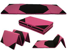 "4'x6'x2"" Folding Gymnastics Gym Exercise Aerobics Mats Stretching Fitness Yoga"