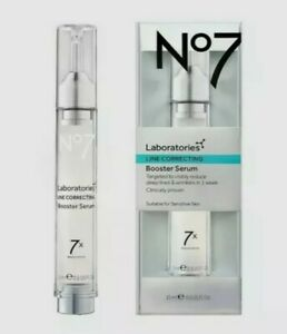 No7 Laboratories Line Correcting Booster Serum 15ml New In Box