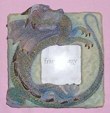"3D Dragon Picture Frame by Frameology 7"" X 7"" Nib"