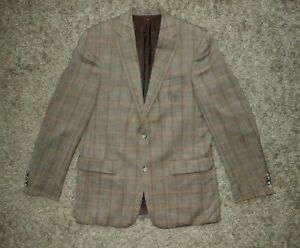 Mens Mario Barutti Wool Silk Linen Blazer / Jacket - Size UK42L EUR 52L / L