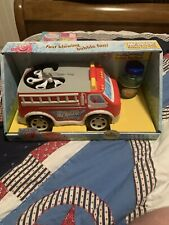 Mr. Bubble Kid Galaxy Fire Truck. Bubble Toy Blower, Red BNIB