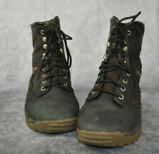 OUTDOOR GEAR HUNTER Men Hiking Boots Size 10.5 Brown Leather Waterproof