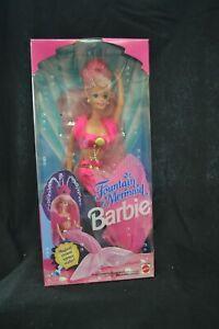 Fountain Mermaid Barbie Doll 1993 Mattel #10393 Magical Crown No Reserve