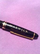 Vintage Warwick Intercontinental Hotel Souvenir Pen