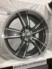 20 inch Gunmetal B/G Rod Works Gasser wheels Chevrolet Camaro SS 2010 2014 5x120