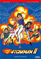 GATCHAMAN II (1978) COMPLETE ANIME SERIES BATTLE OF THE PLANETS (PLS READ BELOW)
