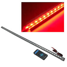 56cm 48 LED 5050 Waterproof Flash Car Knight Rider Strip Lights SMD w/Remote Red