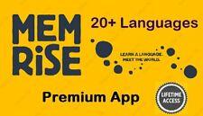 Memrise Premium | Android App | All Languages | Full Version | Lifetime Access