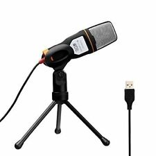 Professional Microphone USB Condenser Sound Podcast Studio PC Laptop Kit Mic New