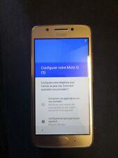 Smartphone Motorola MOTO G5 - 16 Go - Doré