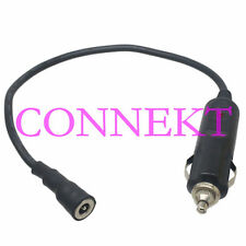 Car Cigarette Lighter Male to DC Power metal 5.5x2.1mm female charger cable