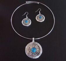 Modeschmuck-Halsketten & -Anhänger für Damen mit Türkis Designer