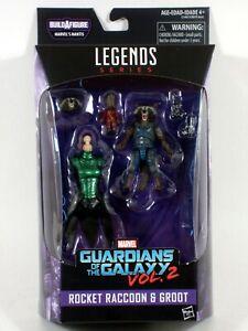 Marvel Legends ROCKET RACCOON & GROOT Figure Guardians of the Galaxy Mantis BAF