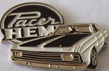 Chrysler Valiant Hemi Pacer lapel pin badge.  -- White -- F040902