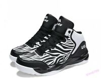 Fashion Men's Casual Canvas High-Top Shoes Board Sneakers Summer Basketball New