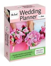 The Knot Wedding Planner in a Box: Portable Checklists and Questions for Plannin