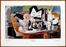 Georges Braque Still Life The Table Vintage Original 1960 1st Print Ltd Ed Litho