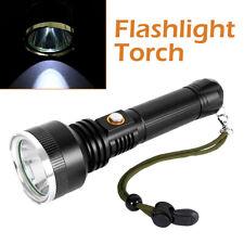 Portable Cree XML T6 LED Focus Torch 1000 Lumen Flashlight Lamp 18650 Camping CA