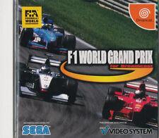F1 World Grand Prix Sega Dreamcast Japan Import Mint/N.Mint  US SELLER