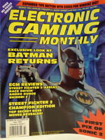Electronic Gaming Monthly Exclusive  Batman Returns July 1992