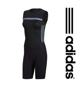 Adidas Womens Weightlifting Suit CrazyPowerSuit CW5660 Gym Training - Black