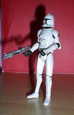 Star Wars THE CLONE WARS AT-TE VEHICLE CLONE TROOPER Loose