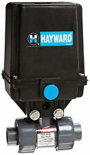 Hayward EAUTB105STE 1/2-Inch EAUTB Series Actuated 2-Way True Union Ball Valve