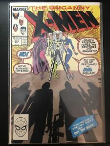 The Uncanny X-Men #244 (May 1989, Marvel) First Appearance Of Jubilee