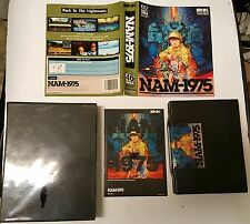 NAM 75 1975  FOR THE  NEO GEO AES HOME CONSOLE CIB          ( NEVER USED BEFORE)