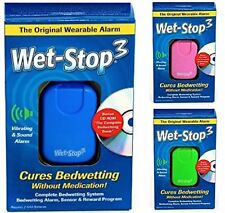 Wearable & Proven Wet-Stop3 Cures Bedwetting Loud Alarm with Strong Vibration