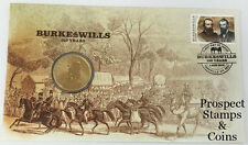 2010 Burke & Wills Stamp and Coin Cover PNC